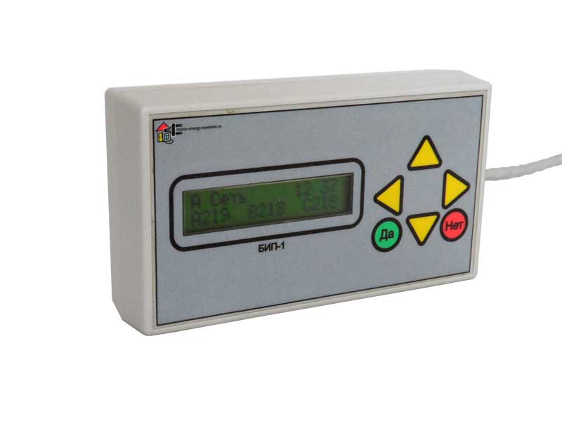Блок индикации и программирования БИП-1, пульт дистанционного управления для БУЭ-Basic